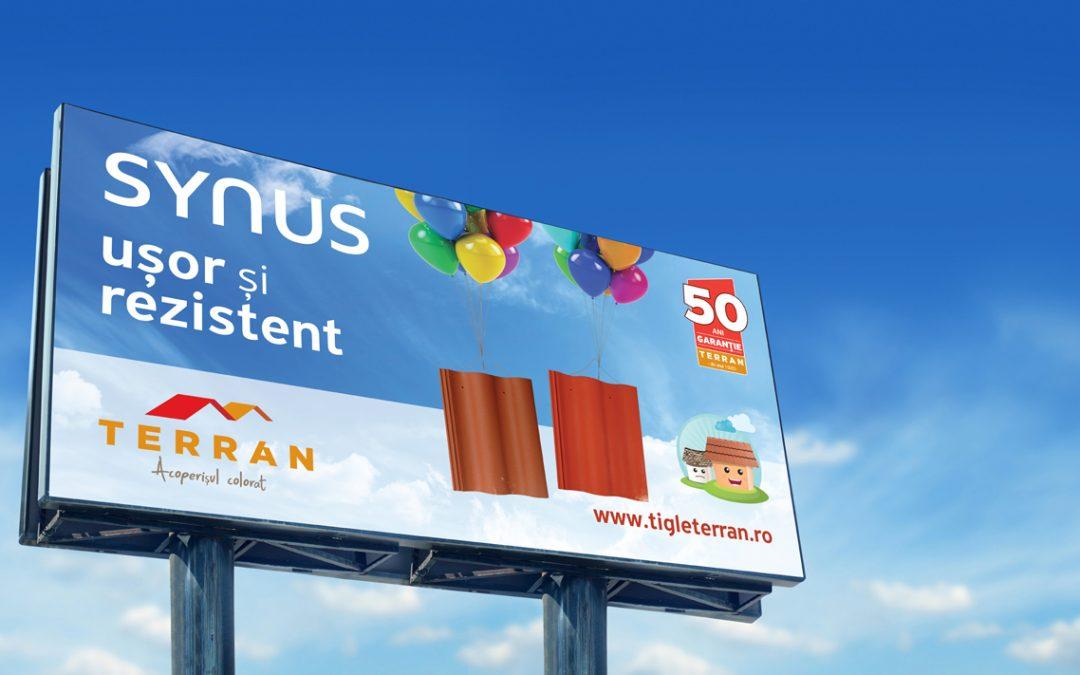 Campanie integrată pentru Terran – țiglele Synus