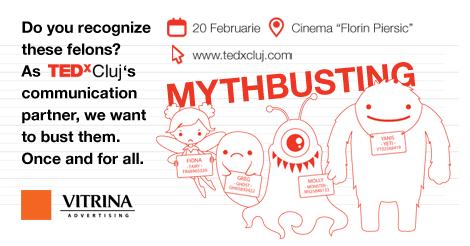 Demolarea miturilor alături de TEDxCluj 2016