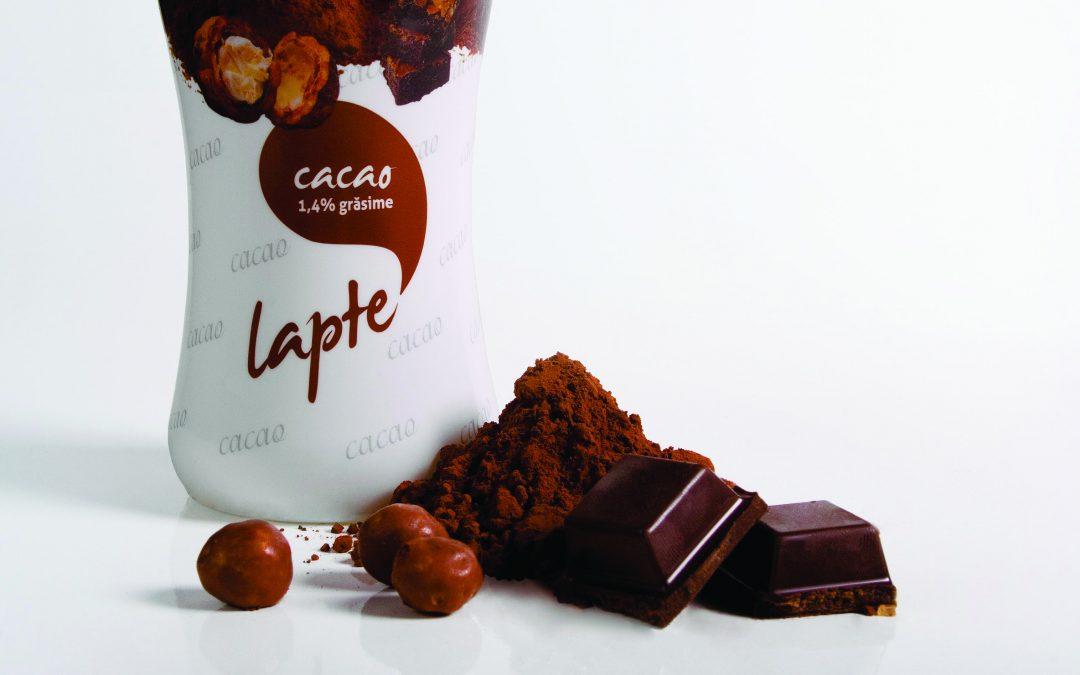 Packaging Lapte Monor cu cacao și vanilie