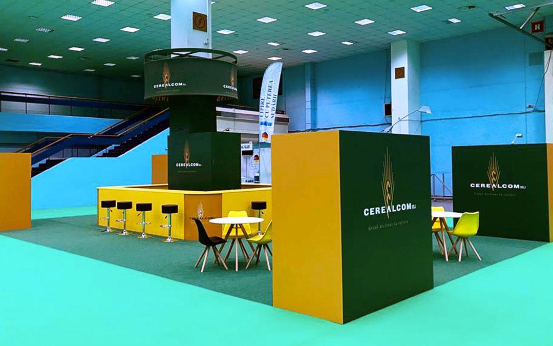 Stand de prezentare pentru Cerealcom Dolj